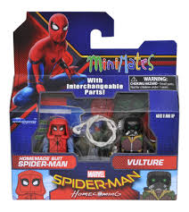 new photos of the spider man homecoming minimates by dst the