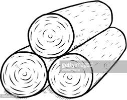 wooden log vector art getty images