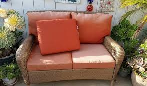 Best Wicker Patio Furniture - patio home depot patio cushions you need with the best value