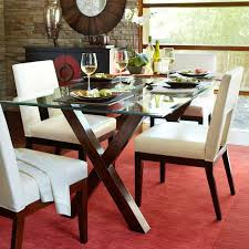Rectangular Glass Top Dining Room Tables Best 25 Glass Table Top Ideas Only On Pinterest Cable Spool