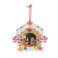 2014 2015 gingerbread house picture frame craft kit