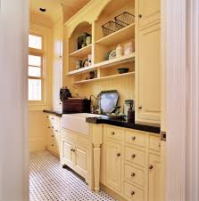 yellow farmhouse bathroom traditional with apron front sink apron