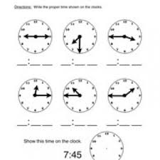 telling time worksheets have fun teaching