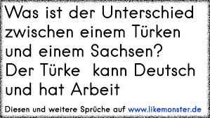 sachsen sprüche was ist der unterschied zwischen einem türken und einem sachsen