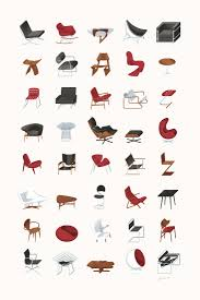 famous designer chairs flickr photo download mid century modern furniture poster 12150