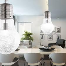 le glã hbirnen design 7w led design pendel leuchte glühbirne le beleuchtung