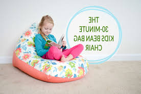inspirations cozy beanbag chair for watching tv or reading a book