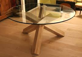 table de cuisine ronde en verre table de cuisine ronde en verre pied central table verre pied
