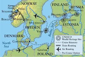 Baltic Sea Map Baltic Sea U2013 Changing Tides Of History Trojan Travel