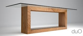 tavoli design cristallo tavolo in legno e cristallo studio di architettura e design di
