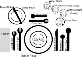 formal dinner table setting formal dinner setting clip art at clker com vector clip art online
