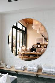 copper bathroom mirrors around l a parachute home easy bathroom updates copper mirror