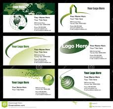 business card templates royalty free stock photos image 15042268