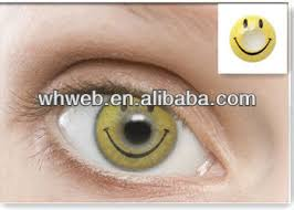 cheap colored honey smile face halloween contacts lens buy