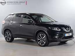 nissan black 2016 used nissan x trail tekna black cars for sale motors co uk
