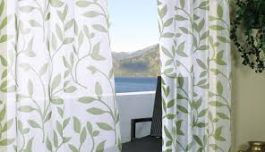 Emerald Green Curtain Panels by Curtains Astounding Prominent Green Print Curtain Panels