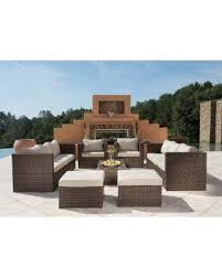 Wicker Patio Sets On Sale by Spring Sales On Corvus Trey Outdoor 12 Piece Brown Wicker Sofa Set