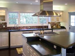 two level kitchen island designs kitchen cabinets traditional white b dkl pearlescent backsplash