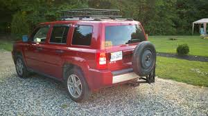 spare tire carrier pictures jeep patriot forums