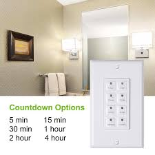 century countdown digital in wall timer switch 5 15 30 60mins 2