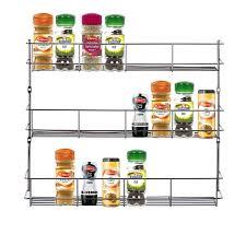 Kitchen Cabinet Door Spice Rack by Spice Sauce Rack Jar Bottle Storage Shelf For Kitchen Cupboard