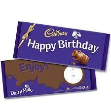 Top Chocolate Bars Uk Happy Birthday Chocolate Amazon Co Uk