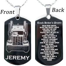 steel dog tag necklace images Stainless steel trucker 39 s dog tag necklace or key chain with free jpg
