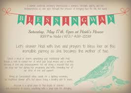blessing invitation bird accent customizable printable blessingway invitation