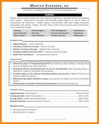 Sample Perioperative Nurse Resume Resume Examples For Nursing Resume Samples For Registered Nurses