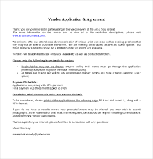 applications template vendor application template 12 free word pdf documents