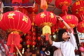 new year lanterns for sale hospitality sector booked out for lunar new year business phnom