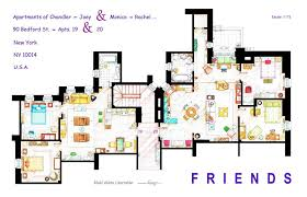 tv news pics here u0027s the floor plans to the friends apartments