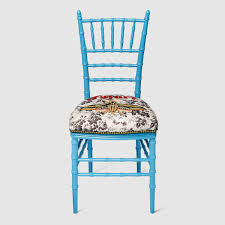 chivari chair chiavari chair with embroidered moth gucci chairs 495703zaw254910