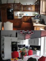 renovation cuisine bois avant apres relooking cuisine bois massif vannes rennes lorient bretagne