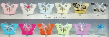 butterfly favor boxes 12 butterfly favor boxes colors