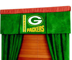 Green Bay Packers Window Curtains Marvelous Green Bay Packers Window Curtains Ideas With Green Bay