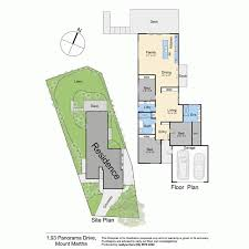 The Panorama Floor Plan by 93 Panorama Drive Mount Martha Vic 3934 Sold Realestateview
