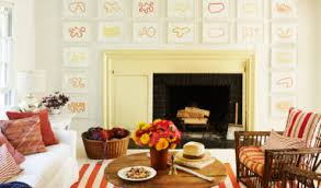 Coastal Living Room Ideas Ways To Decorate With Orange And Yellow Coastal Living Burnt