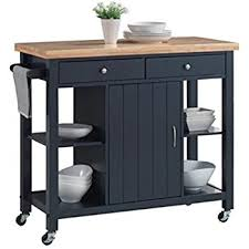 kitchen island or cart amazon com oliver and smith nashville collection mobile