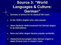 german customs and traditions the arts source 1 facts about