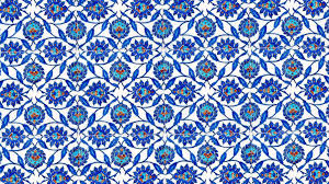 Ottoman Tiles Traditional Blue Turkish Tiles Found In One Of The Imperial