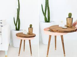 Diy Side Table 10 Easy And Budget Friendly Diy Side Table Ideas To Try Out