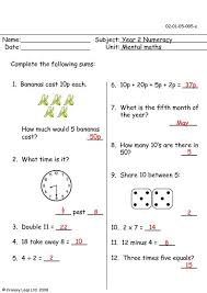 all worksheets year 4 mental maths worksheets printable