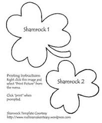 leprechaun face pattern use the printable outline for crafts