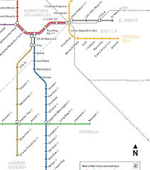 la metro rail map los angeles integrates service on two busways with plans to