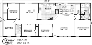 Wayne Home Floor Plans Floor Plans Bay Manor Modular Bm161 Manufactured And Modular Homes