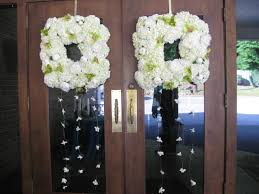 wedding wreaths wedding inspiration wreaths