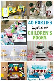 40 popular childrens book birthday parties via sue warren