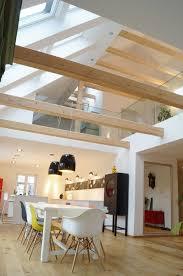 dachgeschoss gestalten haus renovierung mit modernem innenarchitektur kühles