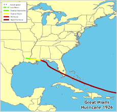 map usa to jamaica hurricanes in history